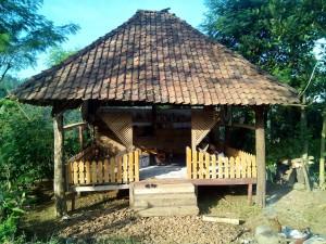 Tampak depan Taman Baca Sumberarum