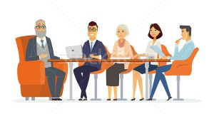 8374754_stock-vector-business-meeting---modern-vector-cartoon-characters-illustration